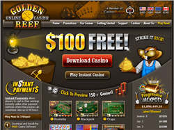 Join at Golden Reef Casino