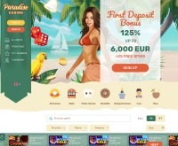 Join at Paradise Casino