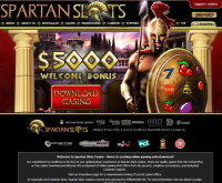 Join at Spartan Slots Casino
